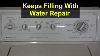 Washing Machine Keeps Filling With Water and Will Not Agitate - Home Repair Series