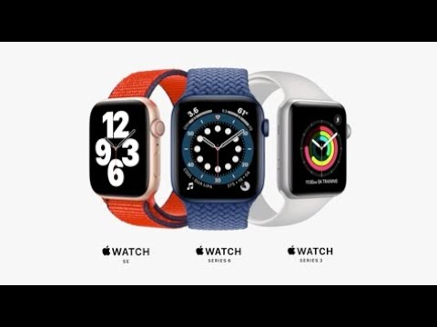 New Apple Watch Series 6, SE and Series 3