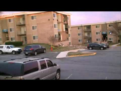 Building partially collapses in Suitland