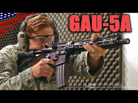 USAF's New Rifle 'GAU-5A' Aircrew Self Defense Weapon at 2019