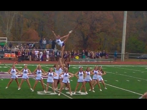 University of the South Cheerleaders: Homecoming 2014