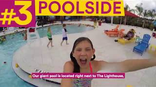 LEGOLAND Beach Retreat Top 5: Poolside