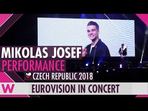"""Mikolas Josef """"Lie to Me"""" (Czech Republic 2018) LIVE @ Eurovision in Concert 2018"""