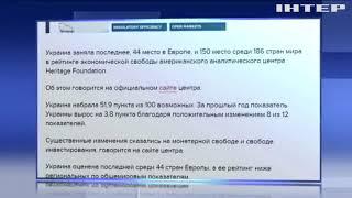 видео Украина поднялась в экономическом рейтинге