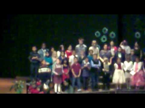Wexford Montessori Magnet School Winter Singing 2012 Part-1