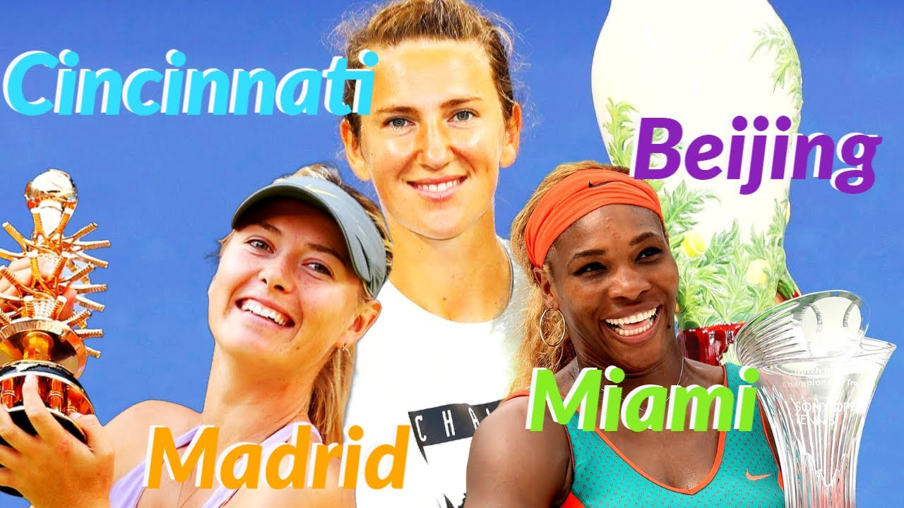 Top 10 Players with Most Premier 5 & M Titles (WTA 2010 – 2021)