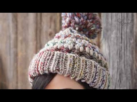 How To Crochet A Hat Big Stitch Youtube