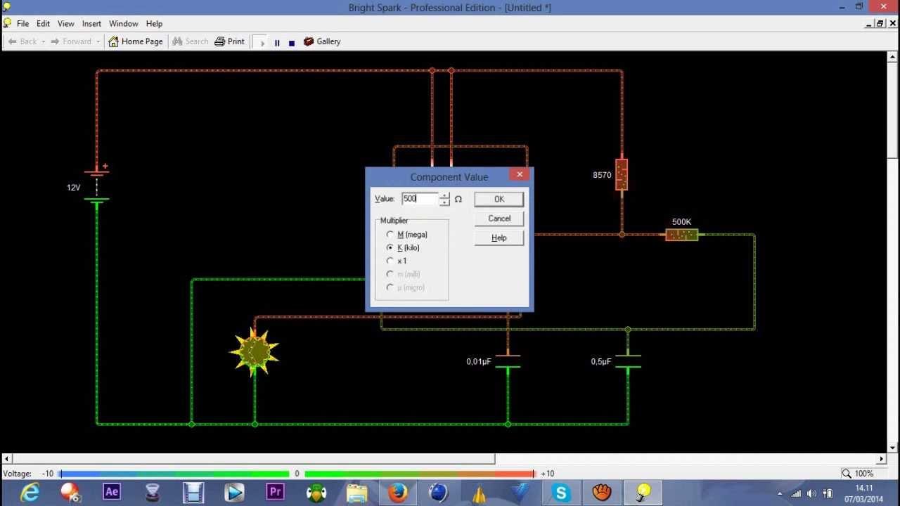 Guida Creare Strobo Con Ne555 Youtube Solid State 555 Ic Stroboscope