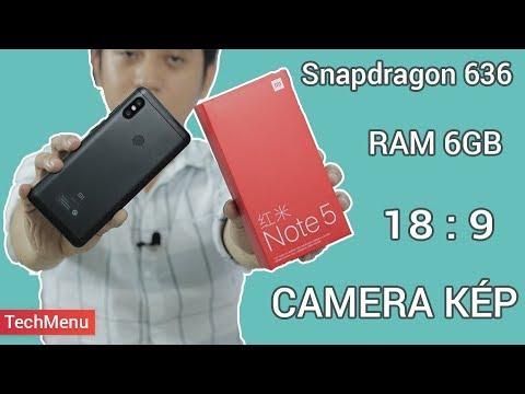 "Xiaomi Redmi Note 5 (Pro) - ""Flagship""  tầm trung  TECHMENU  TECHMAG"