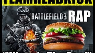 BATTLEFIELD 3 RAP | TEAMHEADKICK (Lyrics)