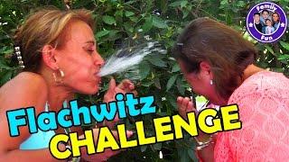 FLACHWITZ Wasser CHALLENGE | Family Fun Battle