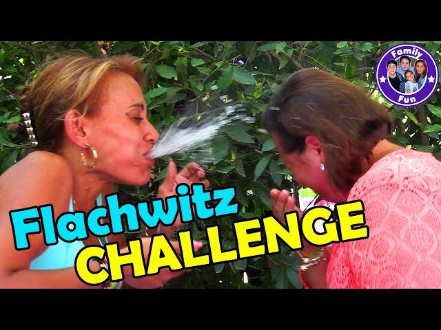 FLACHWITZ Wasser CHALLENGE   Family Fun Battle