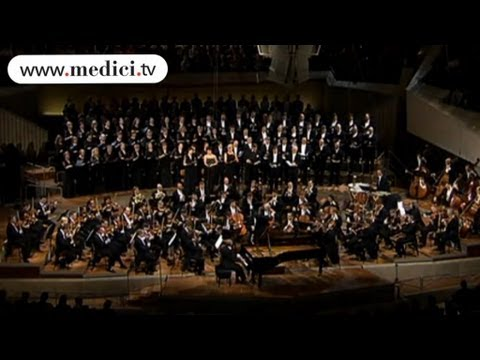 Maurizio Pollini - Fantasy for Piano, Choir and Orchestra - 3rd movement - Beethoven