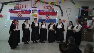 Veterani Hkud Topala(izvorni bečarci),Božićni koncert HKUD Topala Vitez 2018