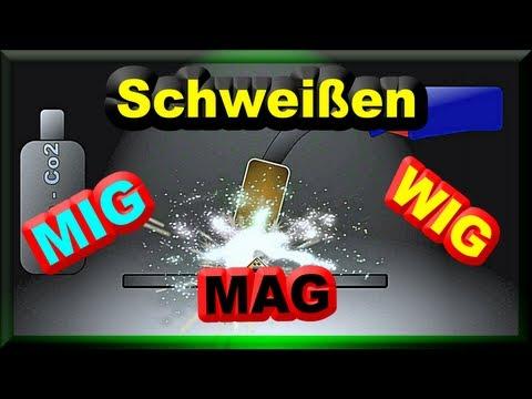 MIG MAG WIG Schweißen - Wo Ist Der Unterschied - Zuschauerfrage An M1Molter