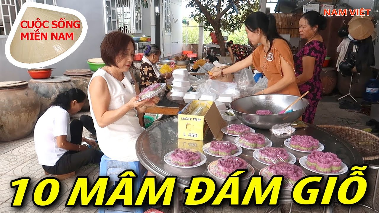 Đám giỗ miền tây: [phần 2] Nấu ăn cho 100 khách từ đặc sản cù lao Long Hựu #namviet