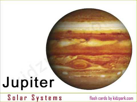 Planets Flash Card - YouTube