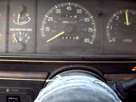 1988 Ford F150 Xlt Larint 4x4 Dash Rev Youtube