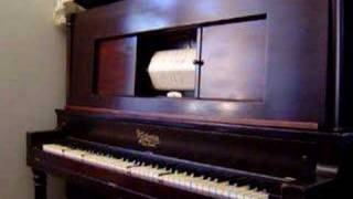 TEMPTATION RAG Player Piano Ragtime