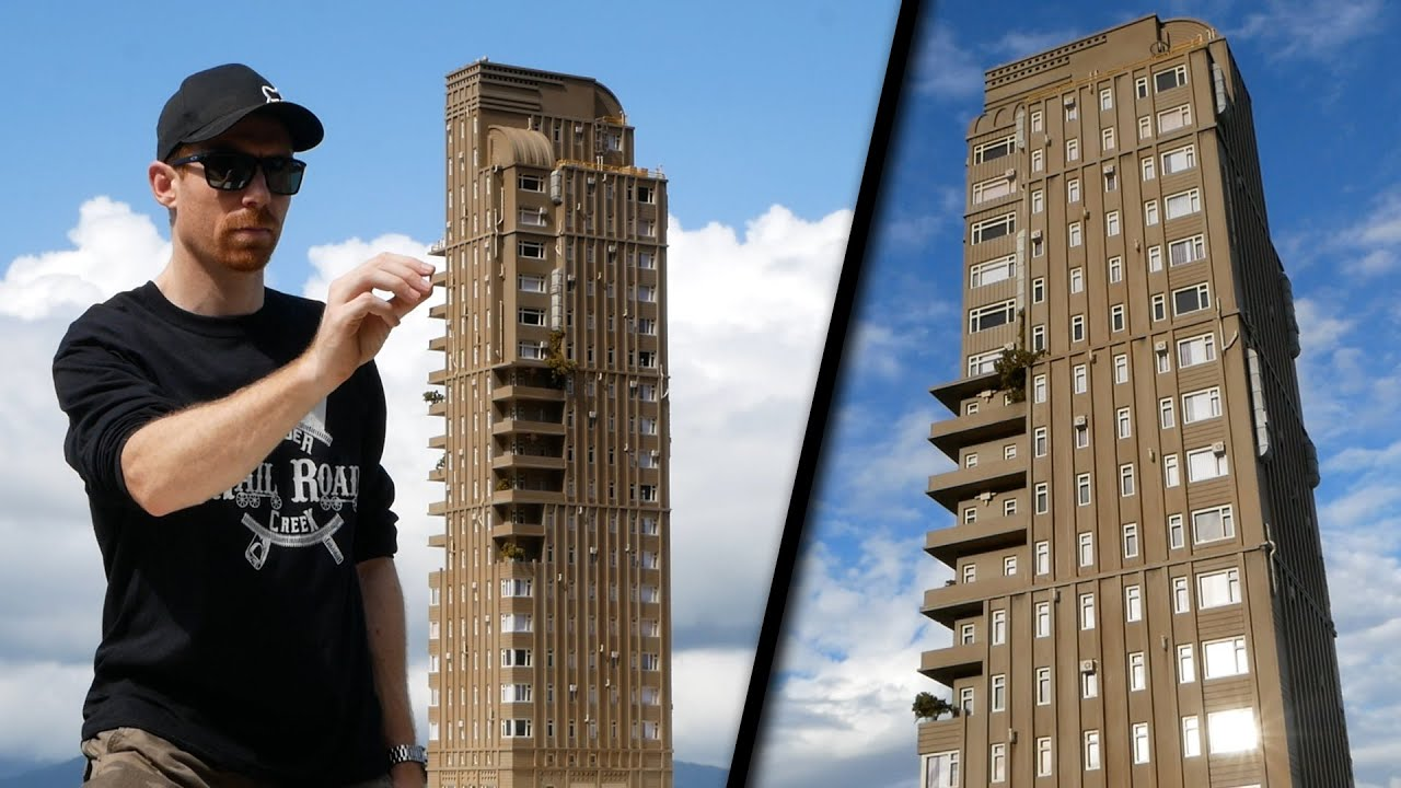Build an awesome High Rise - Model Scenery Tutorial
