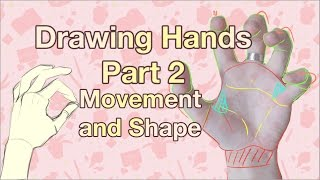How to Draw Hands PART 2 - Movement and Shape - Drawing Tutorial