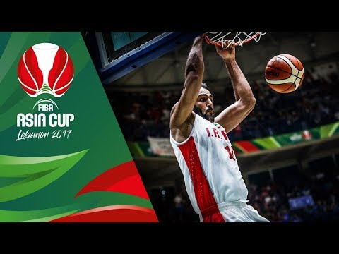 Iran v Lebanon - Highlights - Quarter-Final - FIBA Asia Cup 2017