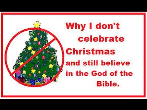 WHY I DO NOT CELEBRATE CHRISTMAS?!?!?! - YouTube