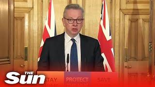 Michael Gove statement after PM Boris Johnson testes positive for coronavirus