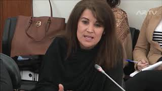 Emília Cerqueira na audição sobre o Programa para a Orla Costeira Caminha - Espinho