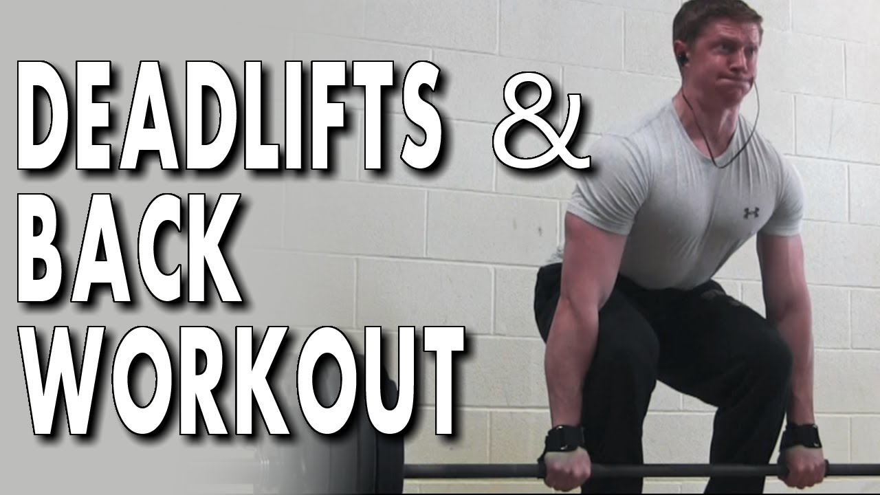 261150446ed3 HEAVY DEADLIFTS   BACK WORKOUT FOR A WIDE BACK - YouTube