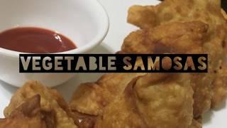 Vegetable Samosas | Sindhu's Kitchen Recipes | Tasty Samosas | Samosa | Crispy Samosas at home