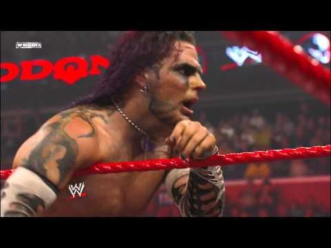 Jeff Hardy vs. Edge vs. Triple H - WWE Championship Match: Armageddon, December 14, 2008