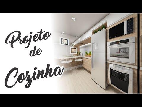 PROJETO DE COZINHA | Antes e Depois | Arquiteta Jana Faedo Fabiani