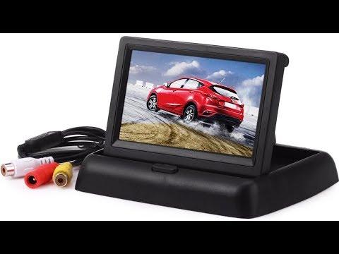 Автомобильный монитор с Алиэкспресс