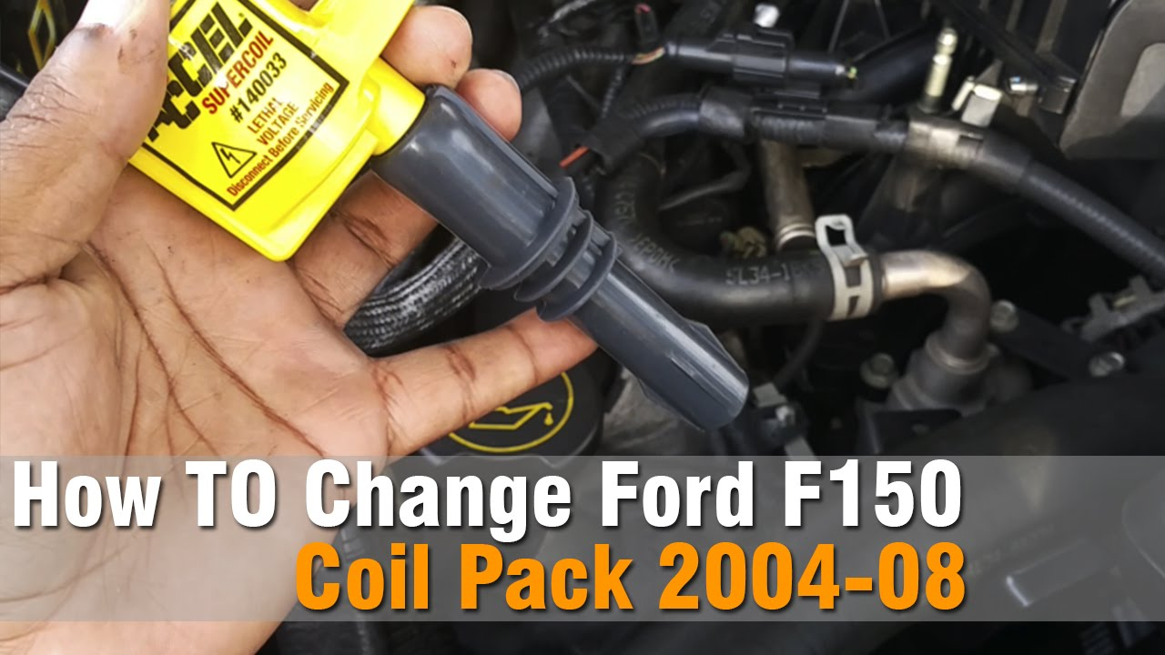 hight resolution of how to change ford f150 coil pack 2004 to 08