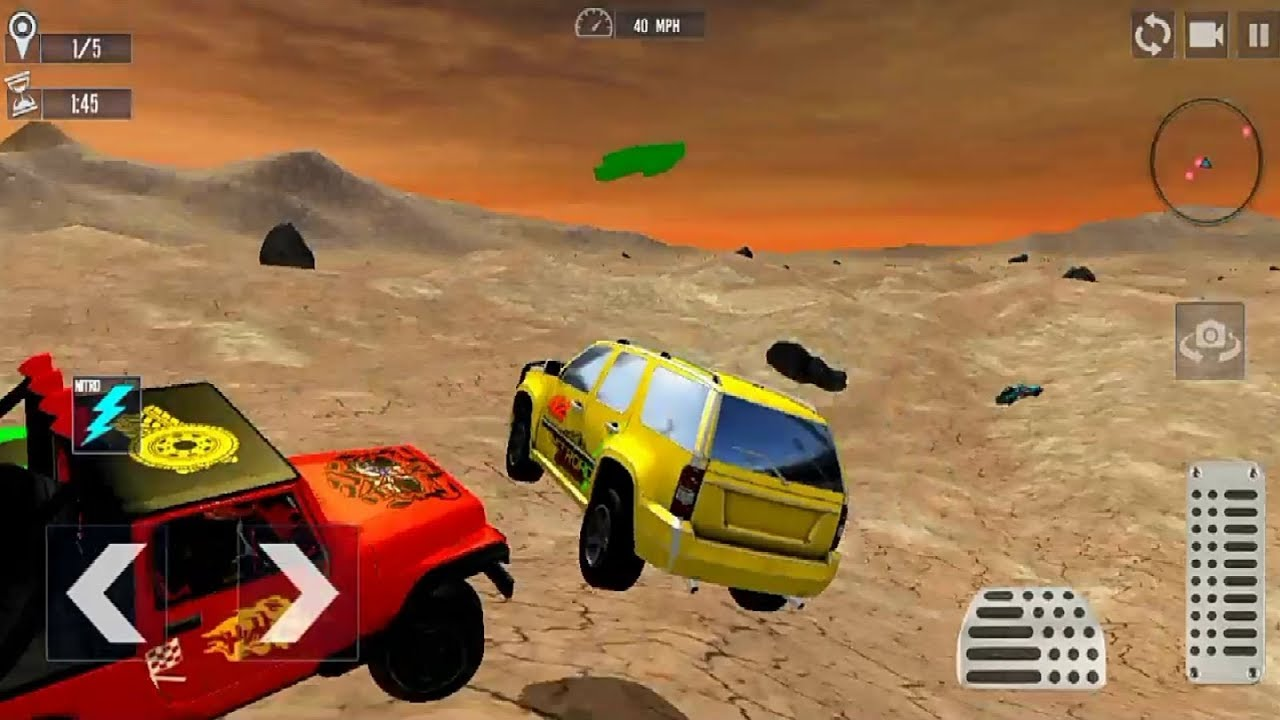 4x4 Off Road Jeep Car Racing Champions Game Android Gameplay Fhd Car Games To Play Racing Games Youtube
