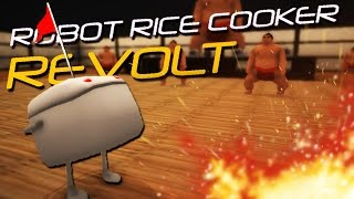 Hungry Hungry Sumo! | Robot Rice Cooker Revolt