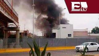 PGR investiga explosión en aduana de Piedras Negras  / Nacional