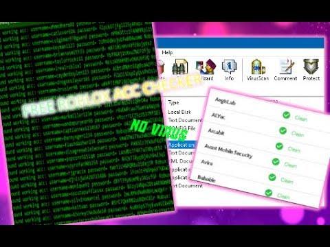 Kidux Roblox Account Checker