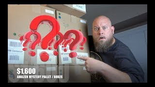 Amazon Customer Returns Pallet Purchased for $1,600 + Find Out What Is In It