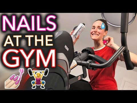 Painting My Nails at the Gym (gEtTing iN sHaPe)