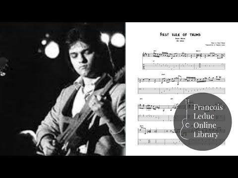 First Rule of Thumb - Brent Mason (Transcription)