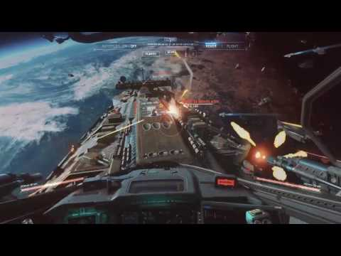 Call of Duty: Infinite Warfare - space battle