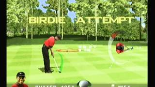 Tiger Woods PGA Tour Golf 99 - Gameplay