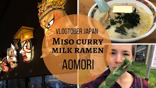 Vlogtober Japan- MISO CURRY MILK RAMEN thumbnail