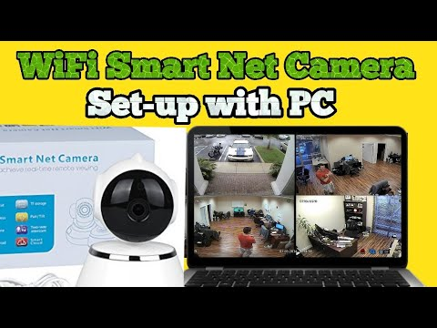 How to Connect WiFi Smart-Net CCTV Camera to PC or Laptop?