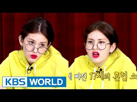 MBTI test is Somi's Korean lesson? [Sister's Slam Dunk Season2 / 2017.03.10]