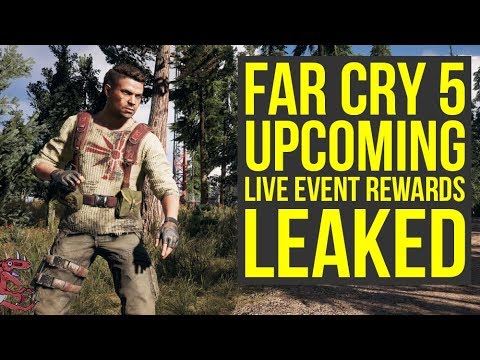 Far Cry 5 Live Event Rewards LEAKED - New Far Cry 5 Outfits & More! (Far Cry 5 Live Events)