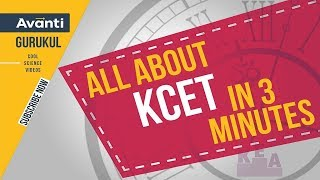 All About KCET in 3 minutes | Karnataka CET Exam | KCET Engineering