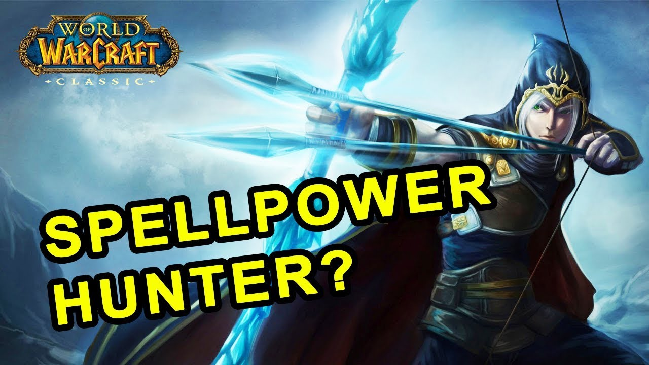 spellpower hunter build in classic wow youtube. Black Bedroom Furniture Sets. Home Design Ideas